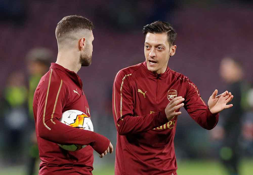 Emery Makes Plans To Sell Five Arsenal Stars As Part Of Summer Clearout