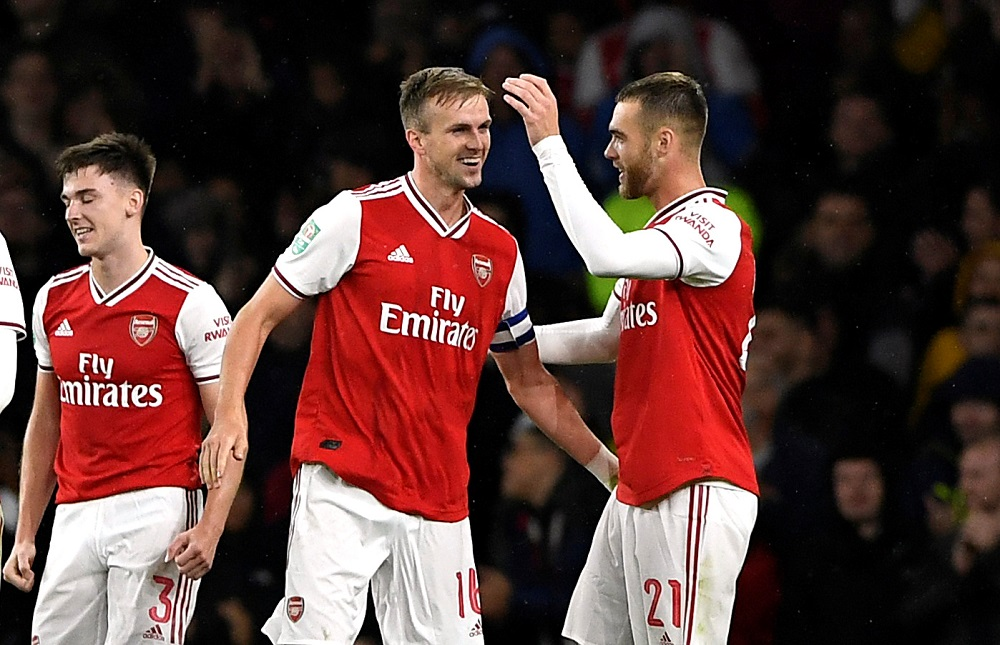 'This Is An Amazing Picture' 'Should Be Joint Captains!!!!' Fans on Twitter React As Arsenal Star Shares Emotional Moment With Teammate