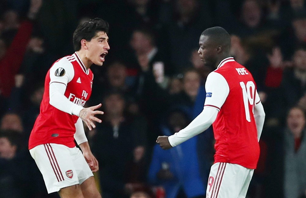 Pepe And Bellerin In, Nketiah And Cedric Out: Arsenal's Predicted Line Up To Face Leicester