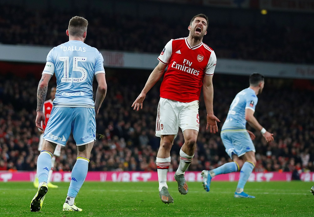 'Imagine Him Doing That Against City' 'If Only He Could Defend' Fans React To Training Ground Footage Of Arsenal Star