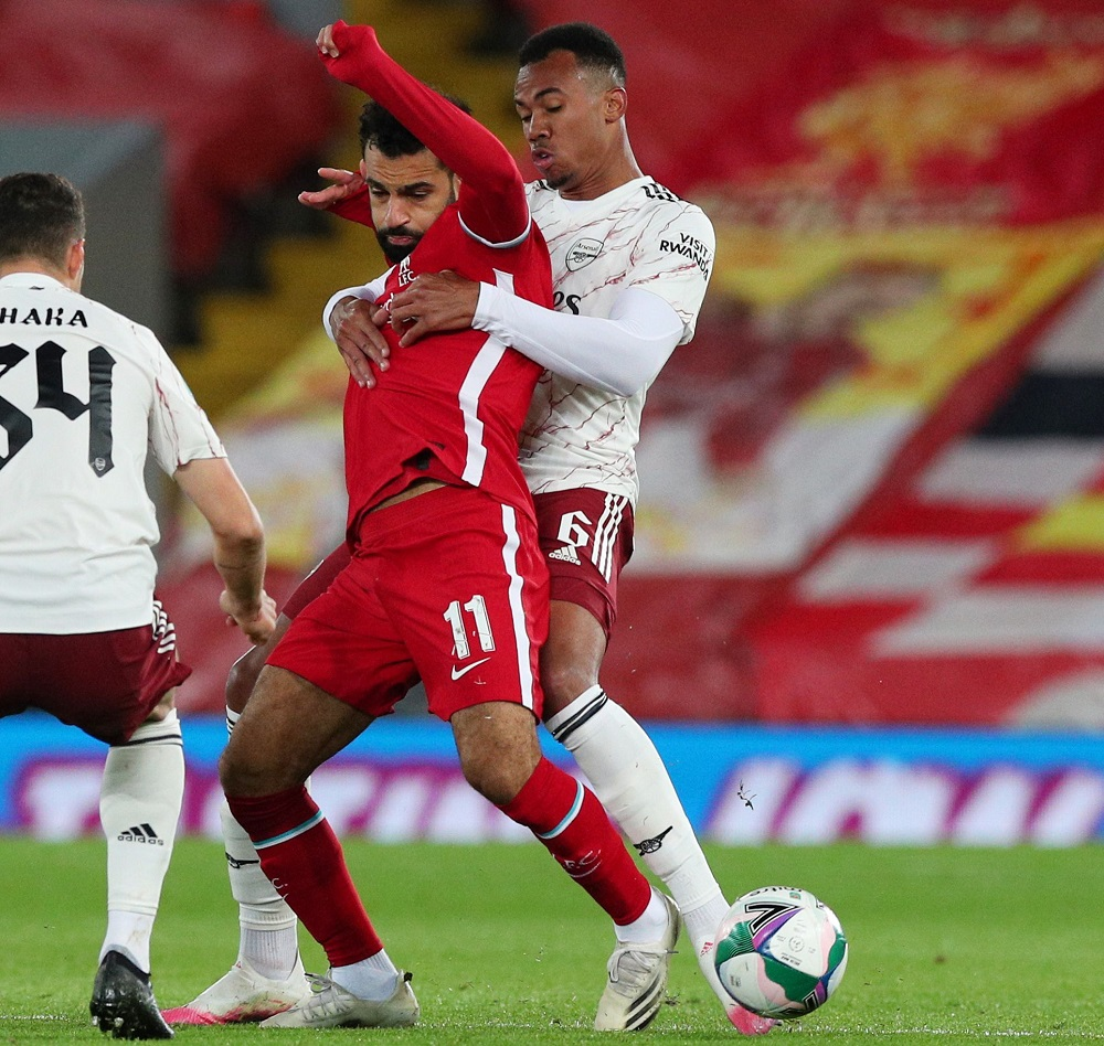 'Shambles' 'He Was Shaky' Fans Criticise Arsenal Defender Who Made 0 Tackles Or Blocks Against Benfica