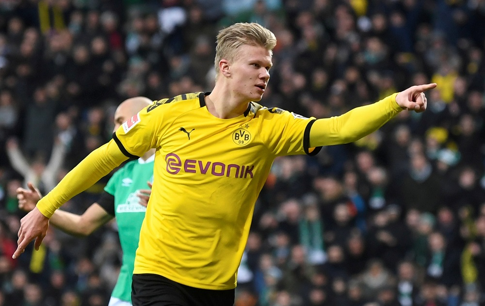 """""""Arsenal Is A Big Club"""" Erling Haaland Praises Gunners As He Reacts To Arrival Of Odegaard"""