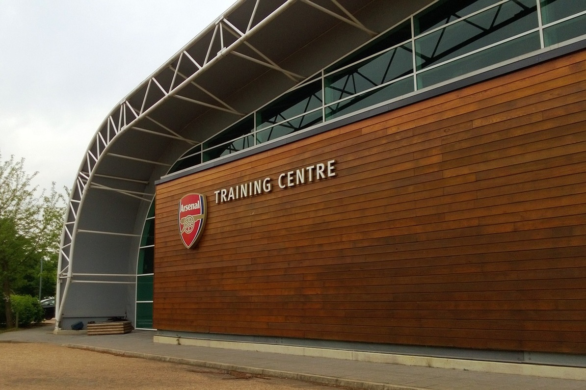 11 stunning photos of Arsenal's London Colney training