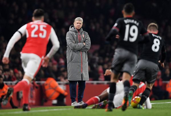 Arsenal v Southampton - EFL Cup Quarter-Final