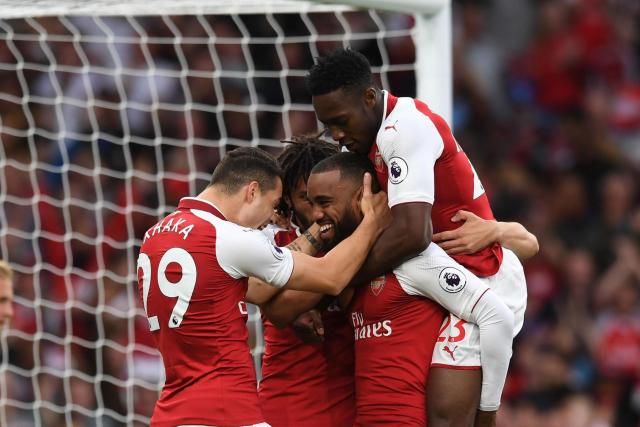 Image result for Arsenal 4 Leicester 3