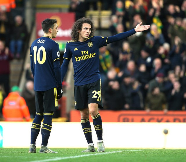 Ozil and Guendouzi will not be involved in tomorrow's FA Cup Final | Gooner  Talk