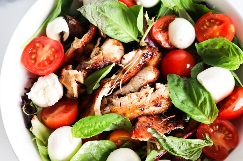 BALSAMIC CHICKEN WITH DAIRY FREE PESTO