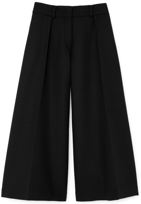 G. Label Caleb Wide-leg pleated culottes