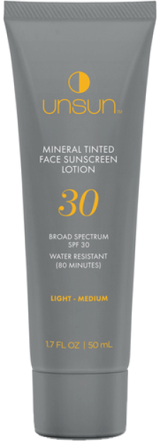 UnSun Mineral Tinted Face Sunscreen, goop, $29
