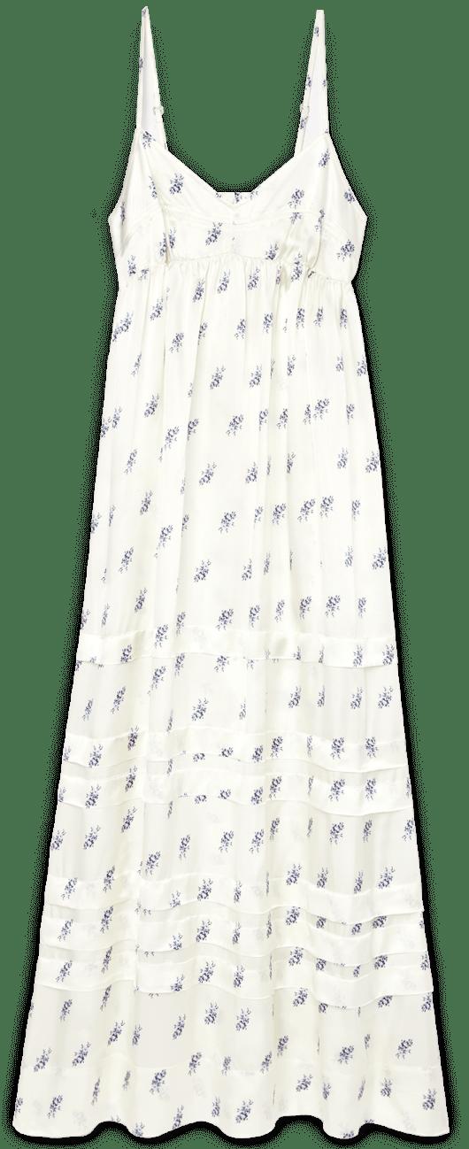 Lee Mathews greta pleated slip dress goop, $420