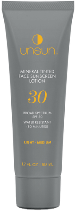 Unsun Mineral Tinted Sunscreen