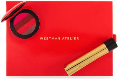 Westman Atelier Mascara + lip suede set