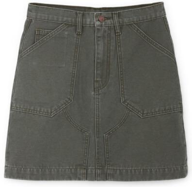 G. Label Pearson Flared Miniskirt