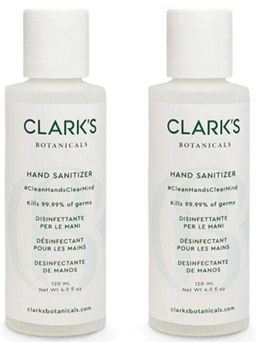 Clark's Botanicals Hand Sanitizer Set