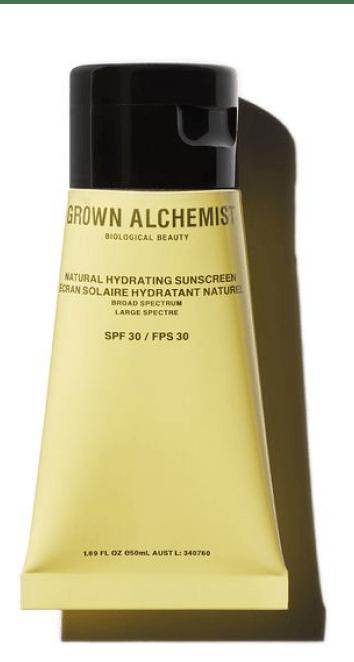 Grown Alchemist Natural Hydrating Sunscreen SPF 30, goop, $39