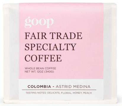 goop Fair Trade Specialty Coffee, goop, $28