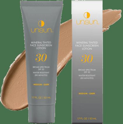 Unsun Tinted sunscreen