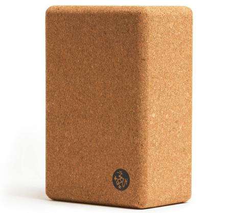 Manduka Cork Yoga Block goop, $22