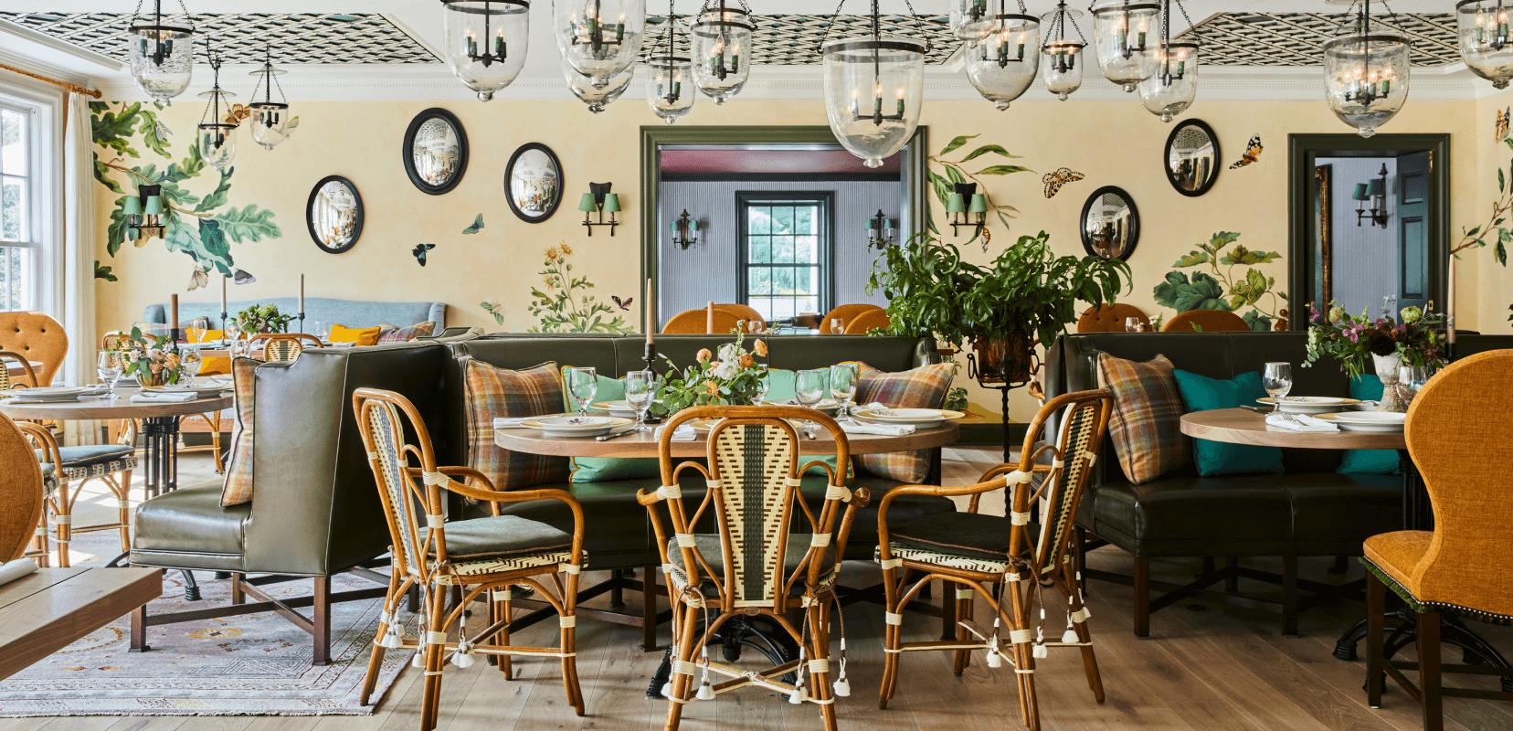 beautiful dining room interior