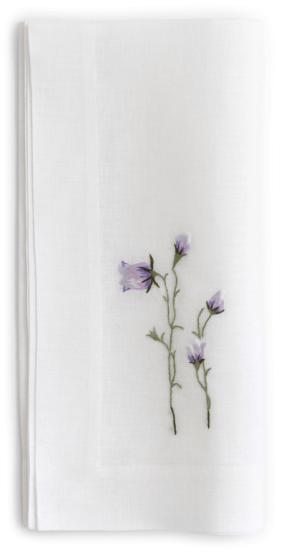 Gayle Warwick Fine Linen Victoria Napkin, goop, $106