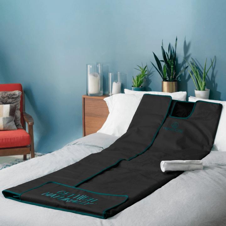 HigherDOSE Infrared Sauna Blanket V3 goop, $500