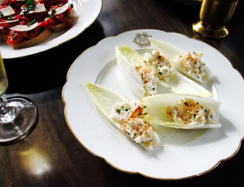 Crab Salad in Endive