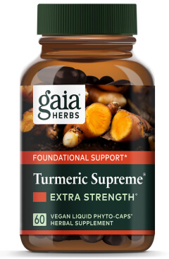 Gaia Herbs TURMERIC SUPPLEMENT