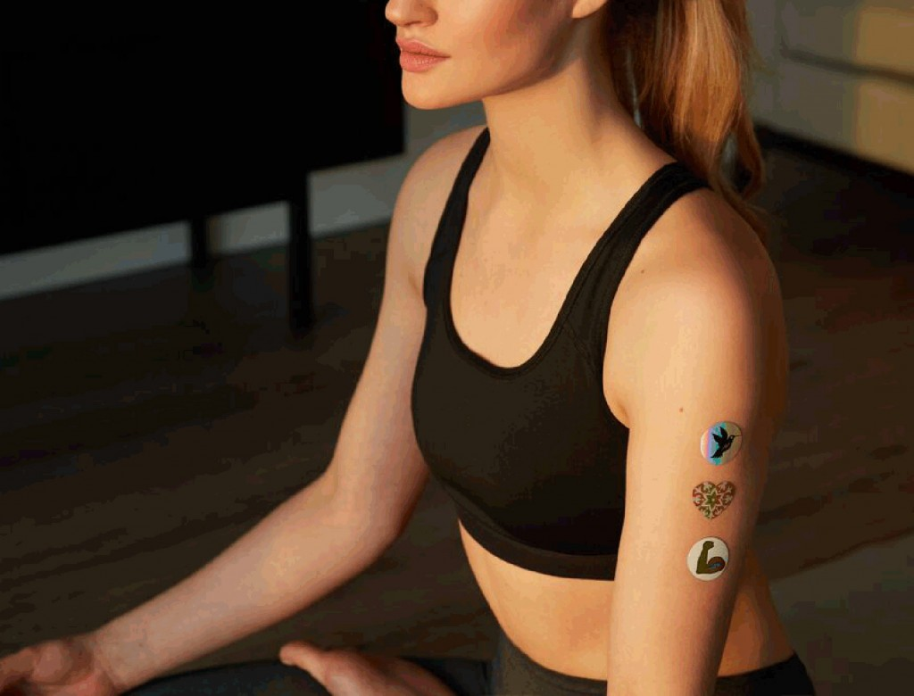 Wearable Stickers that Promote Healing (Really!)