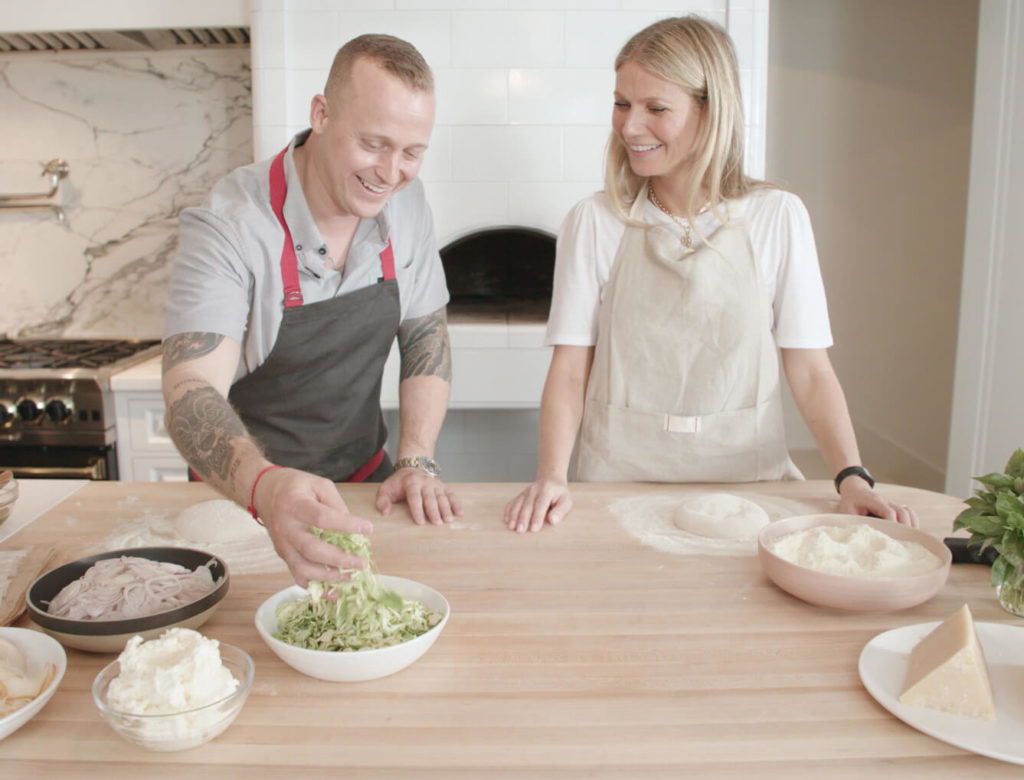 Gwyneth Learns How to Make the Best Sourdough Pizza