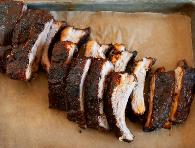 Coffee-Rubbed Baby Back Ribs