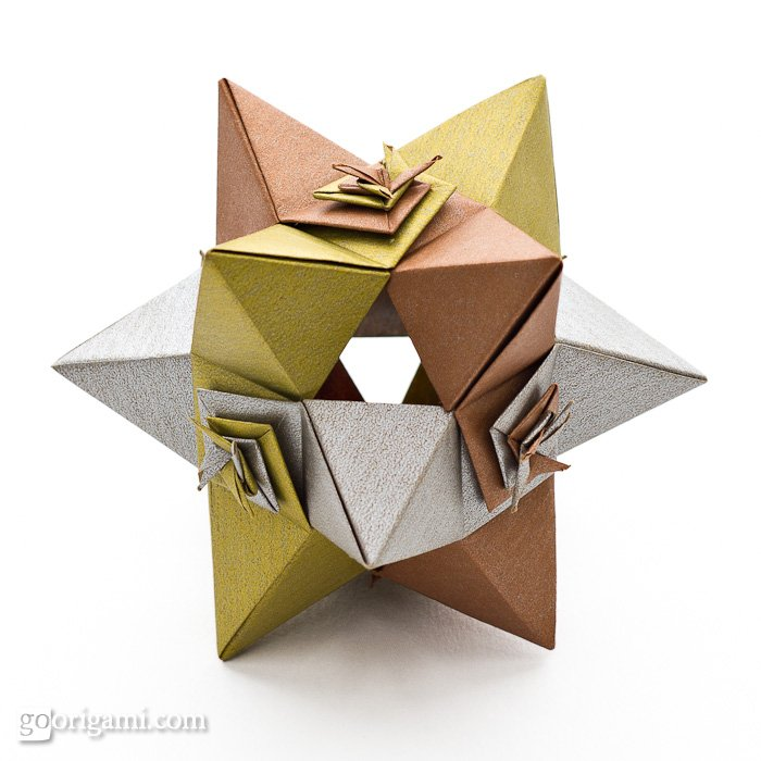 Polyhedron Star Shape Templates