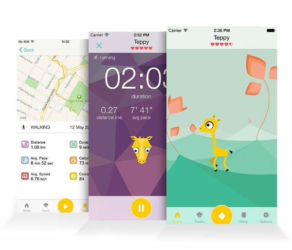 tep tamagotchi fitness app-w600