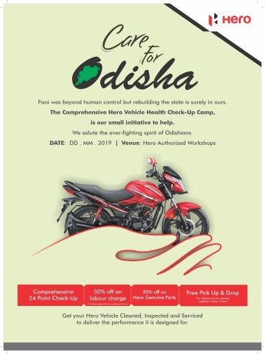 Hero Odisha Creative