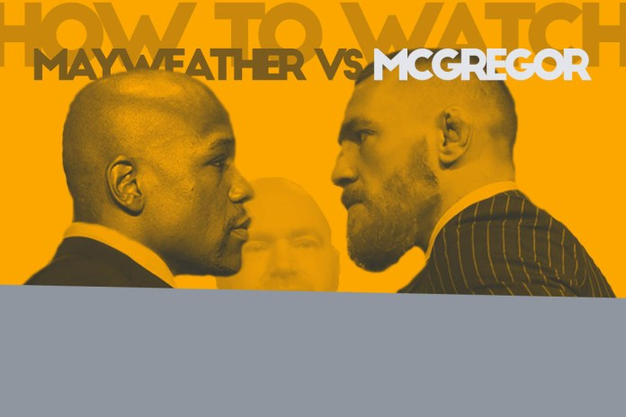 mcgregor mayweather fight