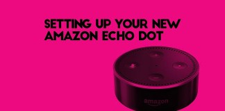 setting up the echo dot