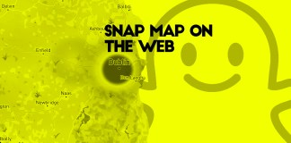 snap map on the web