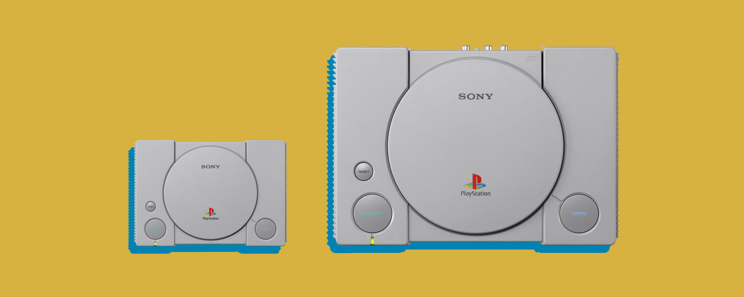 size of sony playstation classic