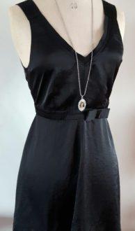 vintage zwart jurkje G-Star RAW maat XS,Goosvintage