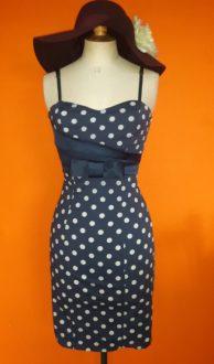 Vintage polkadot jurk Rinascimento maat XS,goosvintage