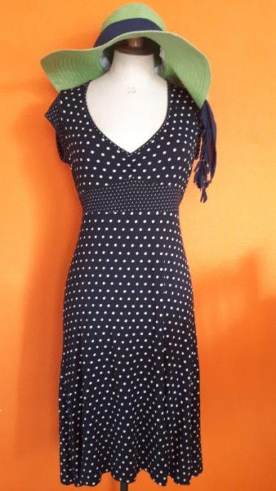 Vintage polkadot jurk Hema maat S,Goosvintage