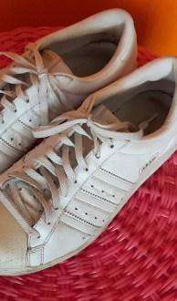 Vintage witte Adidas gympen maat 37,5,Goosvintage
