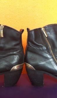 Vintage zwarte laarzen Lavorazione Artigiana, maat 38,Goosvintage