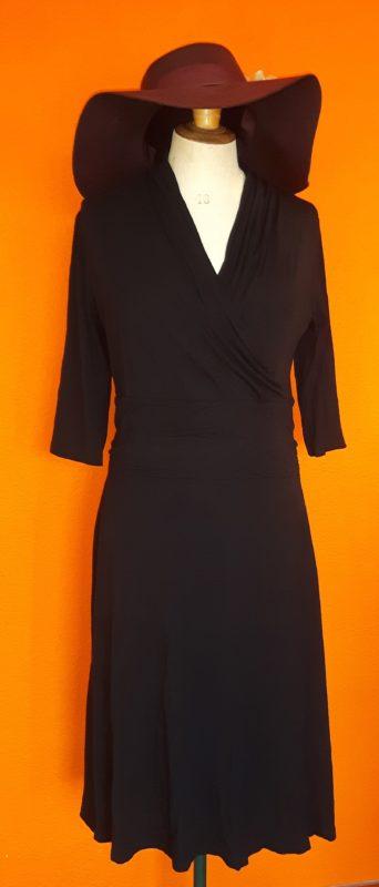 Vintage zwarte jurk Julien le Roy maat M,Goosvintage