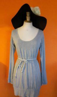 Vintage jurk Timezone S/M organic katoen,Goosvintage