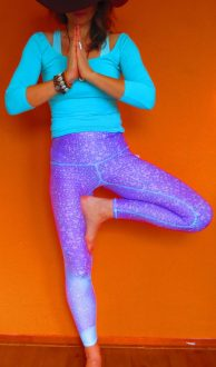 Teeki mermaid fairyqueen lavender hot pant yogalegging,Goosvintage