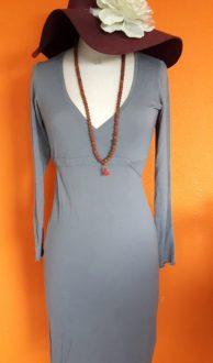 Vintage grijze jurk Enelle maat S,Goosvintage