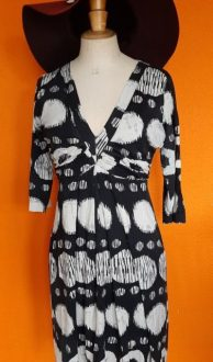 Vintage jurk Studio Annelies maat S/M,Goosvintage