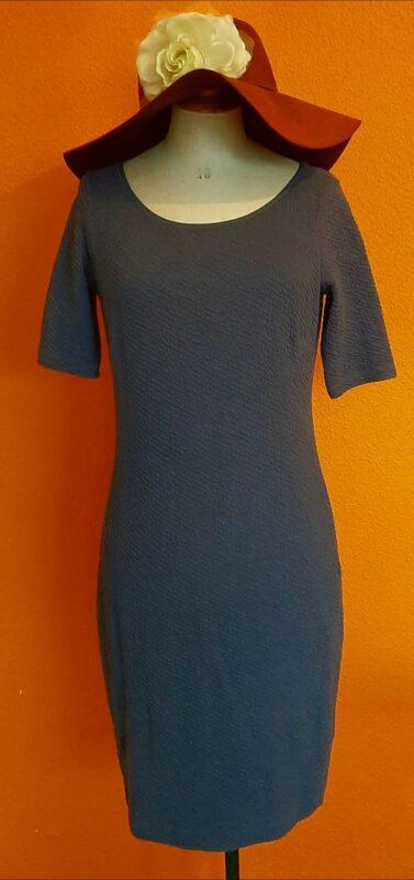 Vintage blauwe jurk Kyra & Ko maat S/M,Goosvintage