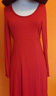 Vintage rode jurk Kyra & Ko maat S,Goosvintage