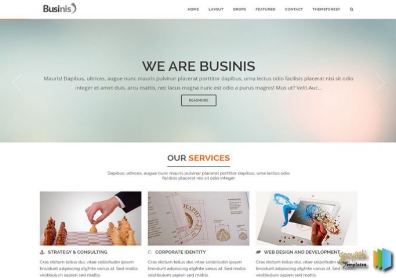 Businis Blogger Template. Businis Blogger Template 2015 premium blogger template